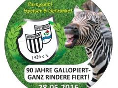 Die Zebras feiern 90. Geburtstag. Am 28. Mai.