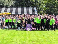 Eine große Fußball-Familie